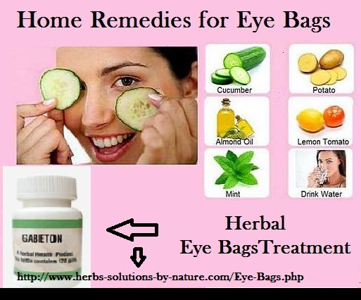 5 Easy Home Remedies To Easy And Quick Home Remedies For Eye Bags Herbs
