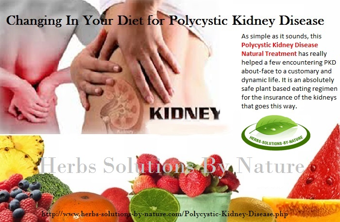 How To Treat Polycystic Kidney Disease Naturally