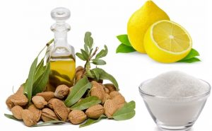 Almond Oil & Lemon Juice