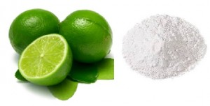 Lime Powder Use for Pimples